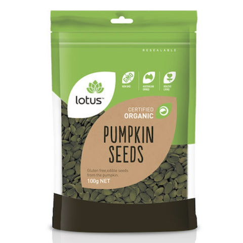 Lotus Pumpkin Seeds Organic