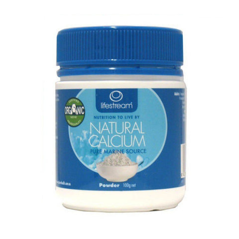 Lifestream Natural Calcium (Pure Marine Source) 100g
