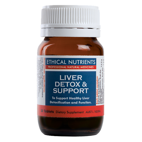Liver Detox & Support Tablets by Ethical Nutrients