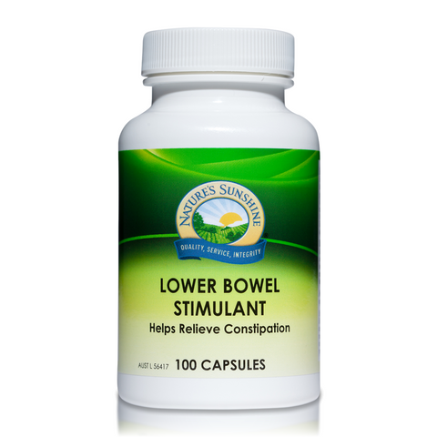 Lower Bowel Stimulant 100 Capsules (LBS) by Natures Sunshine