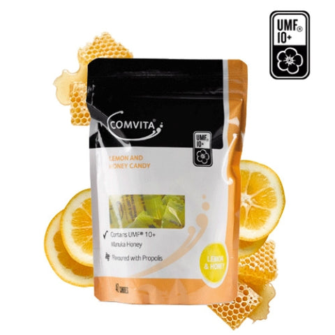 Image of Comvita Propolis Candy 40 Serves - Lemon and Honey