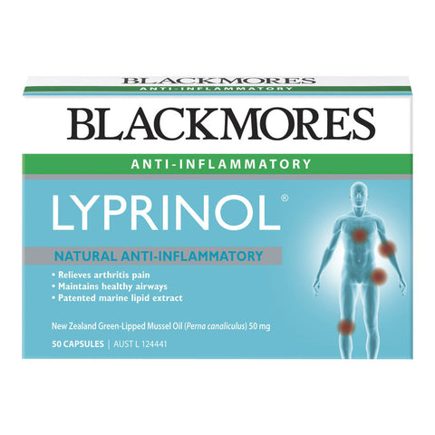 Image of Lyprinol 50 Capsules by Blackmores