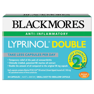 Lyprinol Double Strength 30 Capsules by Blackmores