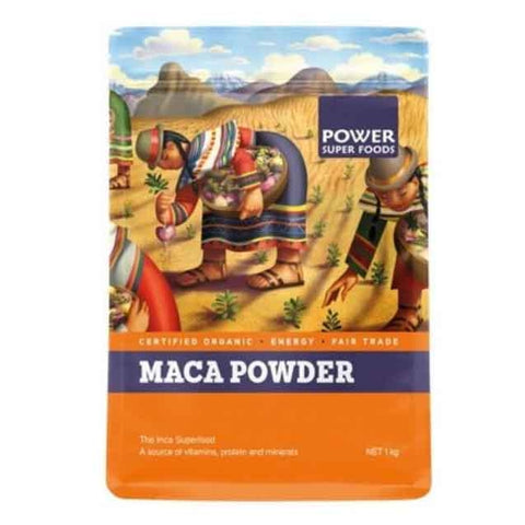 Maca Powder (Organic) 500g by Power Super Foods