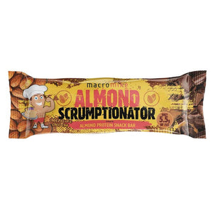 Almond Scrumptionator Protein Bar by Macro Mike