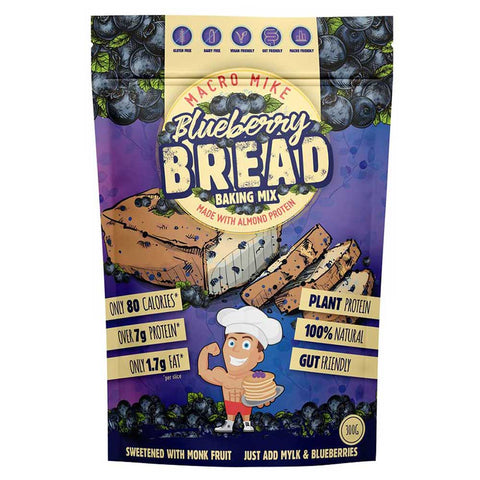 Blueberry Bread Baking Mix by Macro Mike