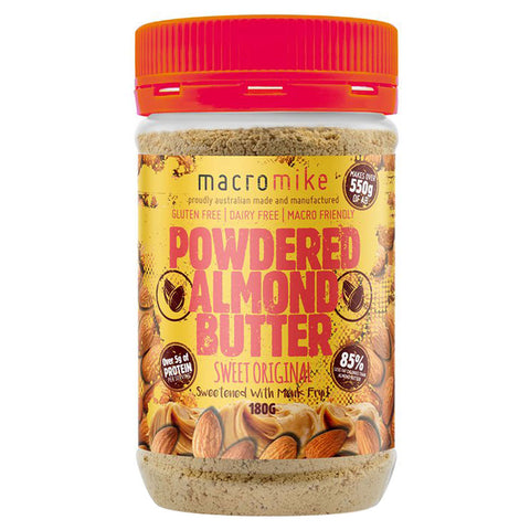Powdered Almond Butter by Macro Mike