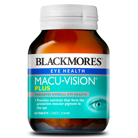 Macuvision Plus 60 Tablets by Blackmores