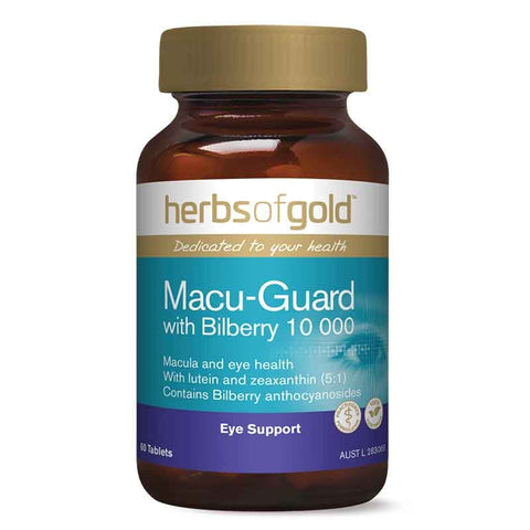 Macu-Guard with Bilberry 10000 by Herbs of Gold