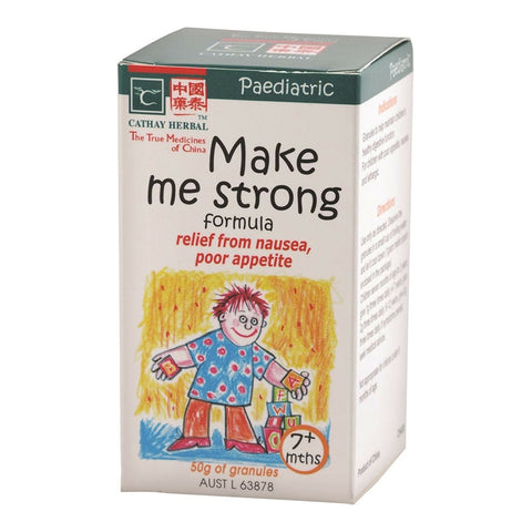 Paediatric Make Me Strong Formula 50g by Cathay Herbal