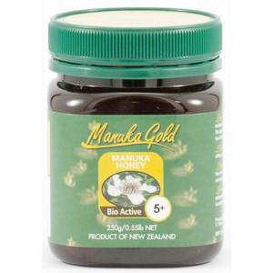 Manuka Honey 5+ 250g - Manuka Gold