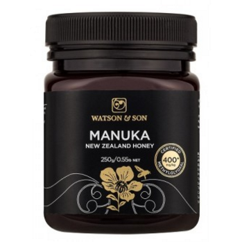 400+ MGO 250g Black Label Manuka Honey - Watson & Son