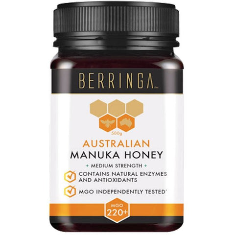 Super Manuka Honey MGO 220+ 500g by Berringa