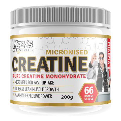 Creatine (Micronised) by Max's Lab Series