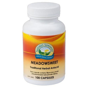 Meadowsweet 340mg 100 Capsules by Natures Sunshine