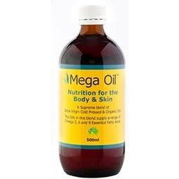 Grahams Natural Mega Oil 500ml