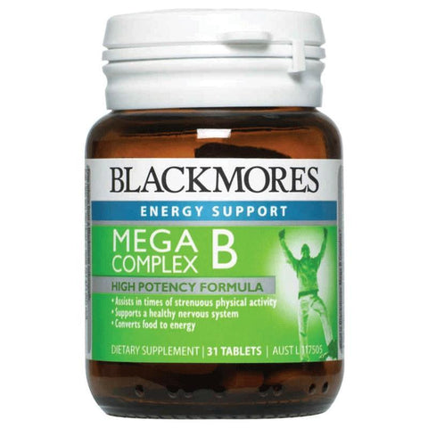 Mega B Complex 31 Tablets by Blackmores