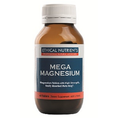 Image of Mega Magnesium 60 Tablets by Ethical Nutrients