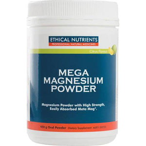 Mega Magnesium Powder 200g by Ethical Nutrients