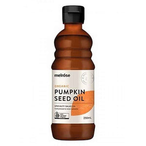 Organic Pumpkin Seed Oil 250ml by Melrose