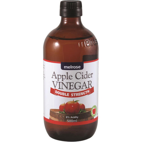 Apple Cider Vinegar (Double Strength) 500ml Melrose