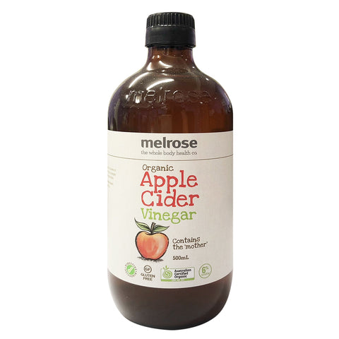 Apple Cider Vinegar (Organic) 500ml - Melrose