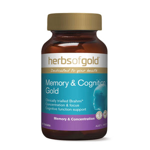Memory & Cognition Gold Tablets by Herbs of Gold