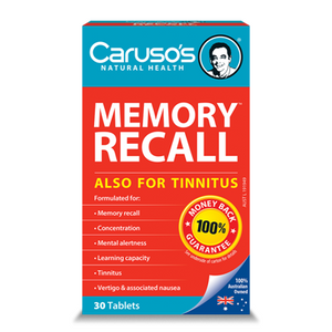 Memory Recall by Carusos Natural Health