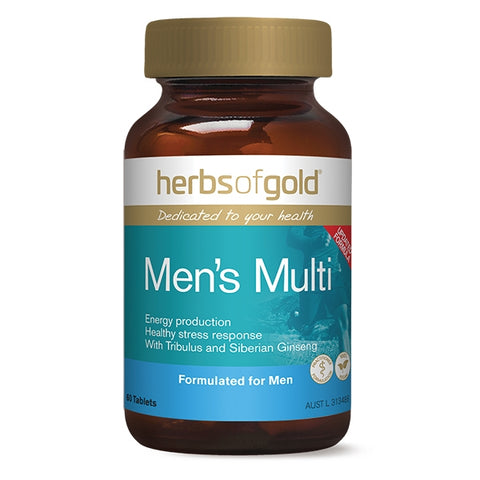 Herbs Of Gold Mens Multi 60 Tablets