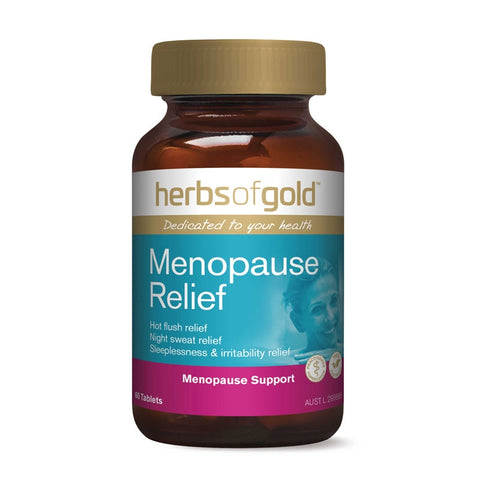 Image of Menopause Relief 60 Tablets by Herbs of Gold