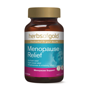 Menopause Relief 60 Tablets by Herbs of Gold