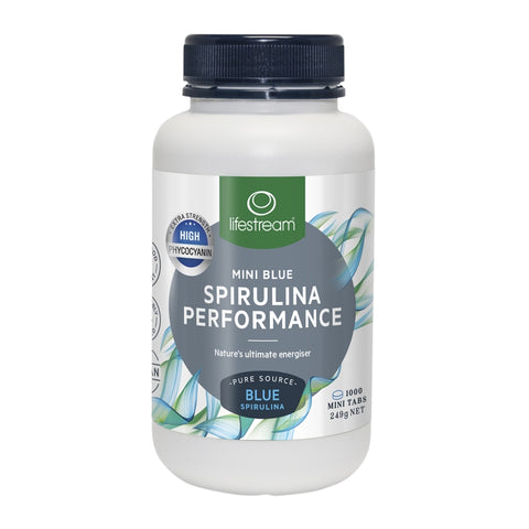 Image of Lifestream Spirulina Performance Mini Blue 1000 Tablets