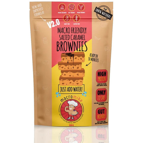 Macro Mike Macro Friendly Brownie Mix 300g