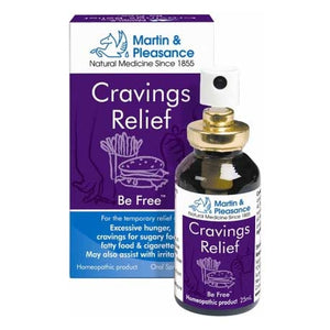 Homeopathic Complex Cravings Relief Spray by Martin & Pleasance