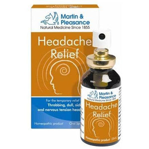 Homeopathic Complex Headache Relief Spray by Martin & Pleasance