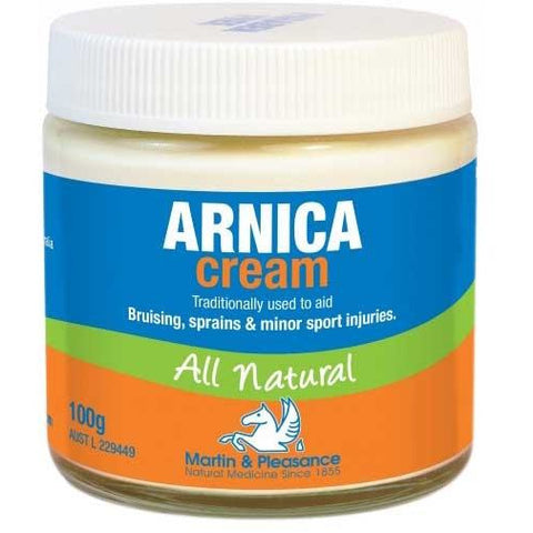 Arnica Cream all natural 100g - Martin & Pleasance