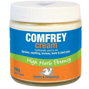 Herbal Cream - Comfrey Cream 100g by Martin & Pleasance