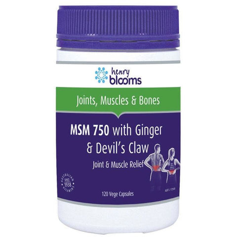 Blooms MSM 750 + Ginger & Devils Claw