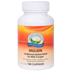 Mullein 300mg 100 Capsules by Natures Sunshine