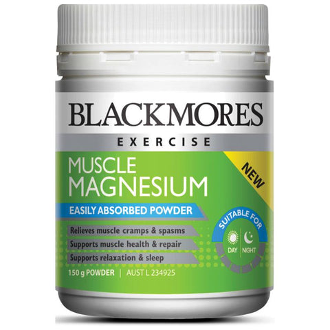 Muscle Magnesium Powder 150g by Blackmores