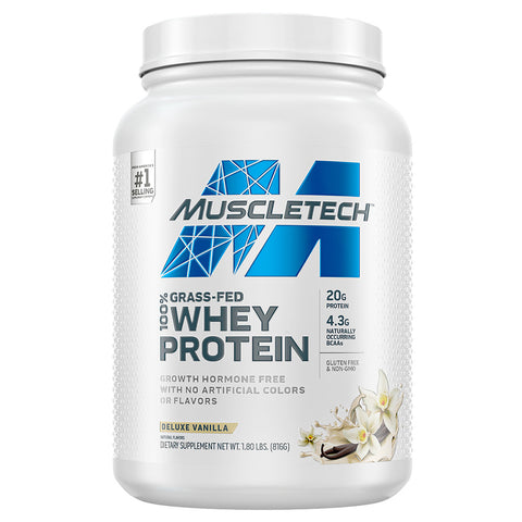 100% Grass-Fed Whey Protein by Muscletech