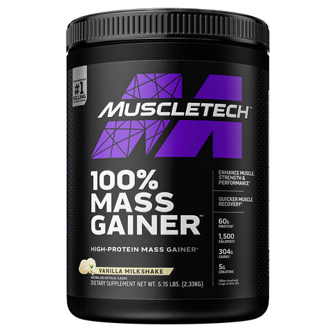 100% Mass Gainer by Muscletech