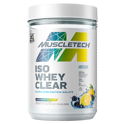 Iso Whey Clear by Muscletech