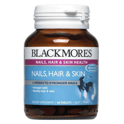 Image of Nails Hair & Skin 60 Tablets by Blackmores
