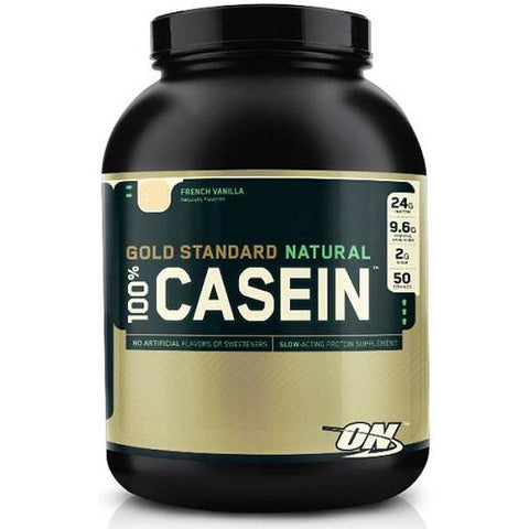 Natural 100% Casein 4lbs (1.8kg) by Optimum Nutrition