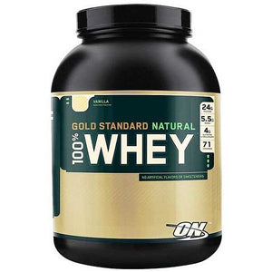 Natural 100% Whey Gold Standard 4.8lbs (2.27kg) by Optimum Nutrition