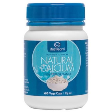 Natural Calcium 60 Capsules by Lifestream