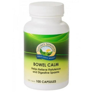 Bowel Calm 375mg 100 Capsules by Natures Sunshine