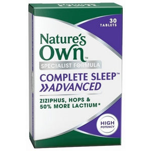 Complete Sleep Advanced Tablets by Natures Own
