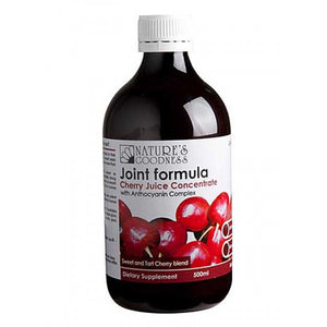 Joint Formula Cherry Juice Concentrate 500ml by Natures Goodness